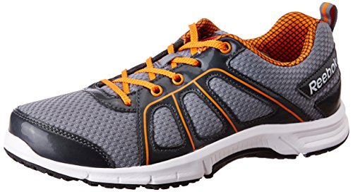 Reebok Men's Fast N Quick Dust, Gravel, Nacho, Wht and Blk Running Shoes – 9 UK/India (43 EU)(10 US)
