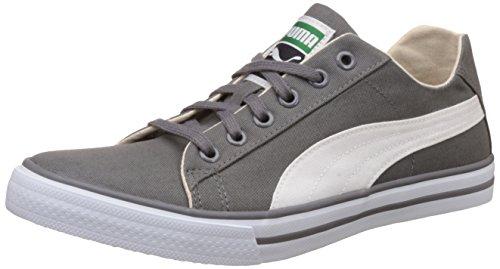 Puma Unisex Hip Hop 5 Dp Quiet Shade and Puma White Sneakers – 5 UK/India (38 EU)