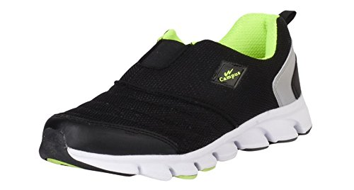 Campus MONTEE Black and Silver and Green Women Sport Shoes Size- 6