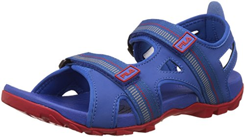 Fila Men's Warmer Dark Blue and Red Sandals and Floaters – 9 UK/India (43 EU)