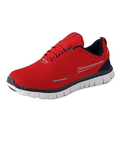 Vir Sport Air Red Men'S Running Shoes (Size: 10)