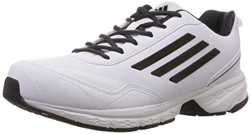 adidas Men's Lite Primo Syn White Running Shoes – 9 UK