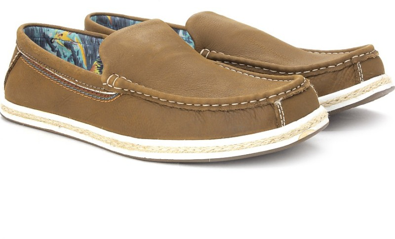 Hush Puppies Men Loafers(Brown)