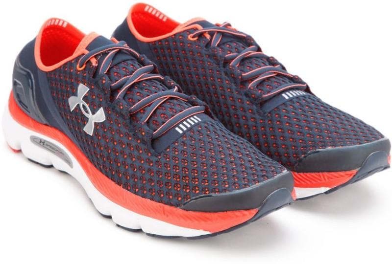 Under Armour SPEEDFORM GEMINI Running Shoes(Blue, Orange)