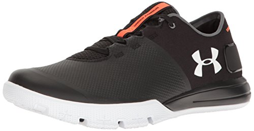 under armour mens ua charged ultimate tr 20 black and white multisport -