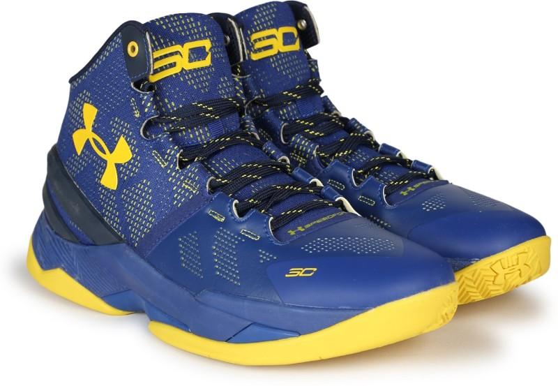 Under Armour UA CURRY 2.0 Basketball Shoes(Blue)