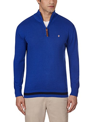 Pepe Jeans Men's Cotton Sweater (8903872640232_DANSON LS_X-Large_Royal)