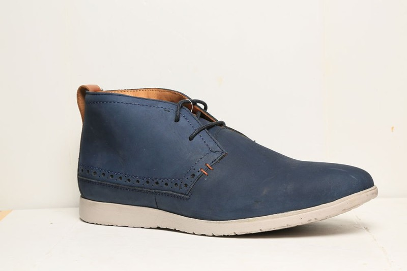 Hush Puppies ZERO G NU BUCK BOOTS Sneakers(Blue)