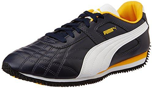 Puma Men's Mexico Idp Peacoat, Puma White and Old Gold Sneakers – 9 UK/India (43 EU)