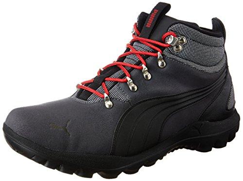 Puma Men's Tatau Fur Boot 2 Idp Asphalt, Puma Black, Barbados Cherry and Dark Shadow Sneakers – 11 UK/India (46 EU)
