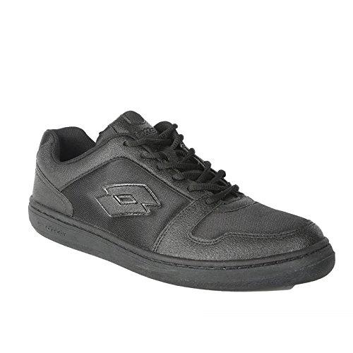 Lotto Men's Ace Black Running Shoes – 8 UK/India (42 EU)
