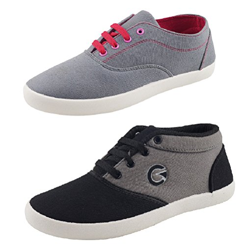 Globalite Women's Combo Of 2 Casual shoes GSC1128_1170DUB UK/IN 5