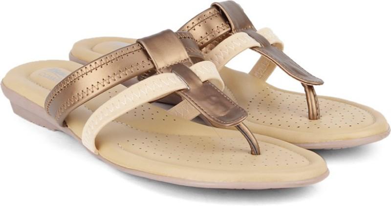 Bata Women Tan Light Brown Flats