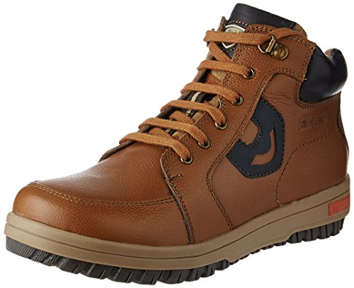 Red Chief Men's Glassy Tan Leather Boots – 10 UK/India (44.5 EU)(RC3405 287)