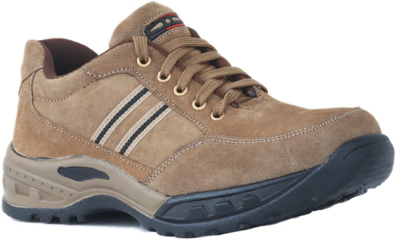 Tek Tron Talent Redchief Safety Shoes Boots(Tan)