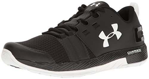 Under Armour Men's Commit TR Black and White Multisport Training Shoes – 9.5 UK/India (44.5 EU)