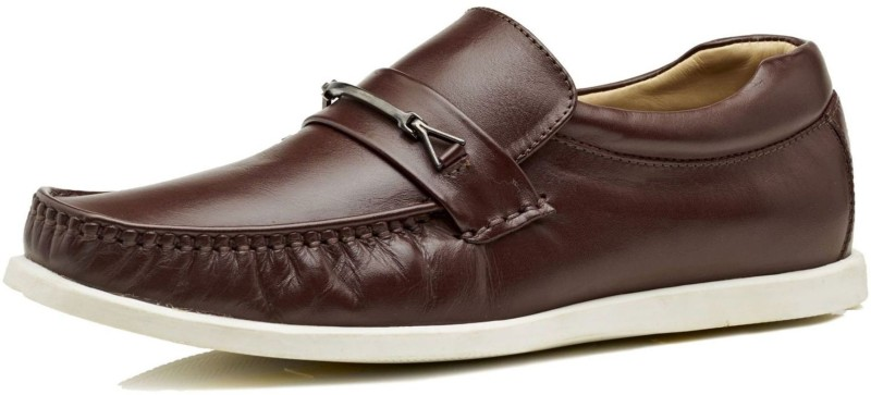 Brent Shoes Florence Slipon Casuals(Burgundy)