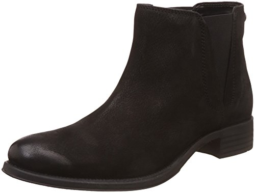 Hush Puppies Women's Kendra Ab Black Leather Boots – 8 UK/India (41 EU)(5046980)