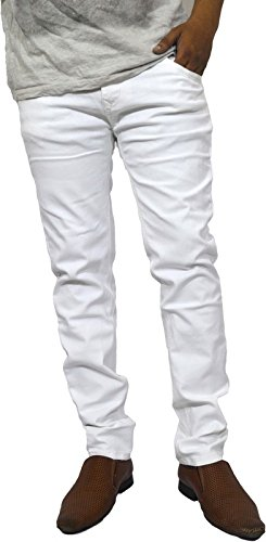 Lawson White Mens Skinny Fit Jeans