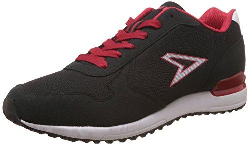 Power Men's Black Running Shoes – 9 UK/India (43 EU) (8316215)