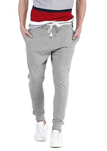 Basics Men's Joggers (8907554050661_16BTP35099_34_Grey)