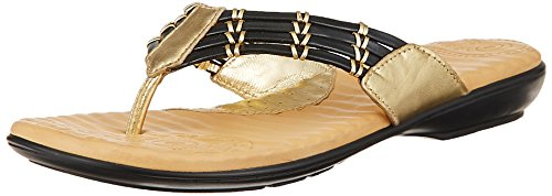 Dr Scholl Women's Sparkle Black Leather Slippers – 3 UK/India (36EU) (5746710)