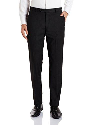 Raymond Men's Formal Trousers (8907576986665_RMTS02502-G7_82_Dark Grey)