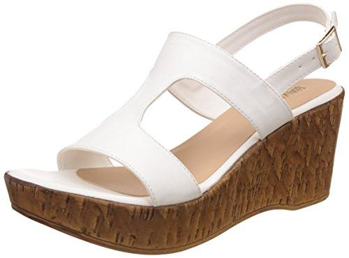 Lavie Women's 6920 Sling Back White Fashion Sandals – 4 UK/India (37 EU)