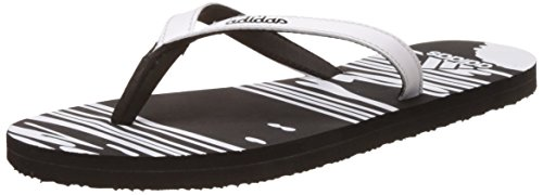 adidas womens jung w s cblack and ftwwht flip flops and house slippers 5 -