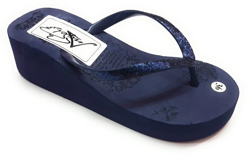 angel fashion slippers -