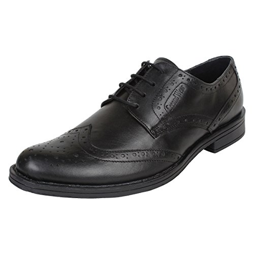 seeandwear brogue shoes for men branded leather black lace up formal shoes 9 -