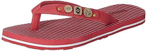 Hush Puppies Women's Allina Red Rubber Slippers – 4 UK/India (37 EU)(5775964)