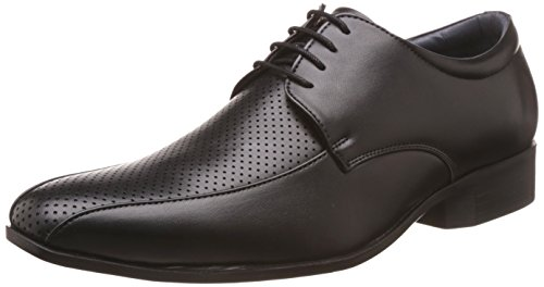 Bata Men's Martin Derby Black Formal Shoes – 9 UK/India (43 EU)(8216169)