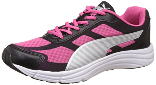 Puma Women's Expedite Wn's Idp Puma Black and Fandango Pink Running Shoes – 5 UK/India (38 EU)