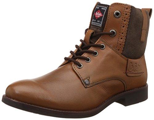 Lee Cooper Men's Tan Leather Boots – 11 UK/45 EU