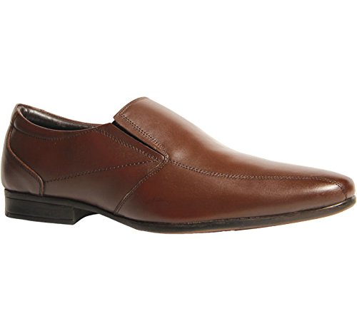 BATA Men's Harry Brown Leather Formal Shoes – 7 UK/India (41 EU)(8544489)