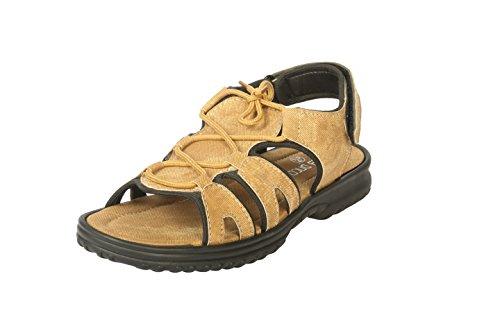 Bacca Bucci Men Tan Textile Sandals 8 Uk
