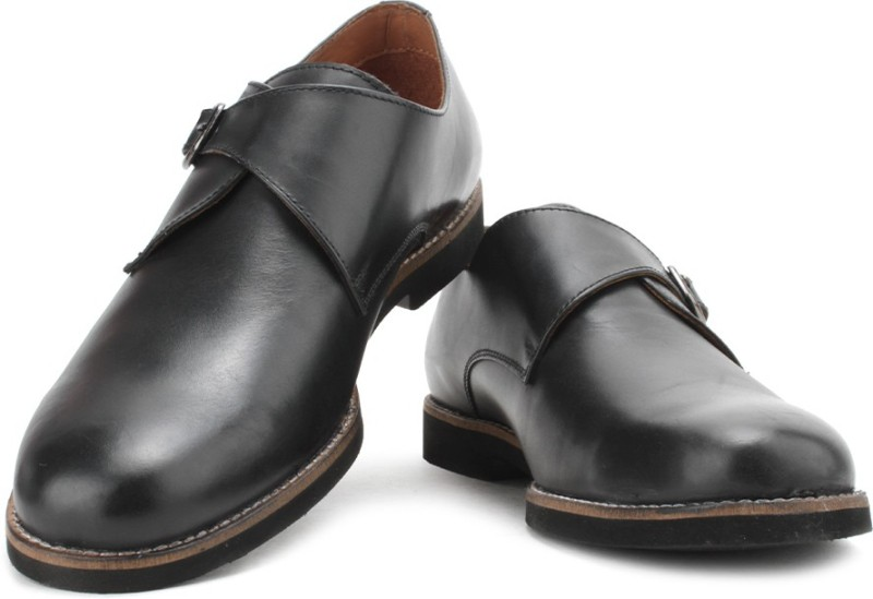 Allen Solly Monk Strap(Black)