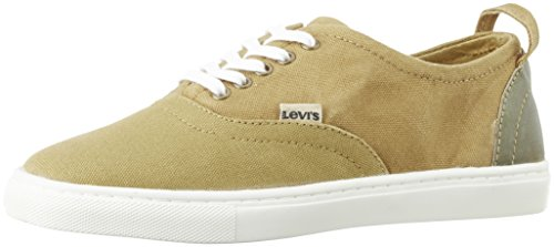 Levi's Men's Smart Brown Rubber Sneakers – 7.5 UK/India (40.5 EU)