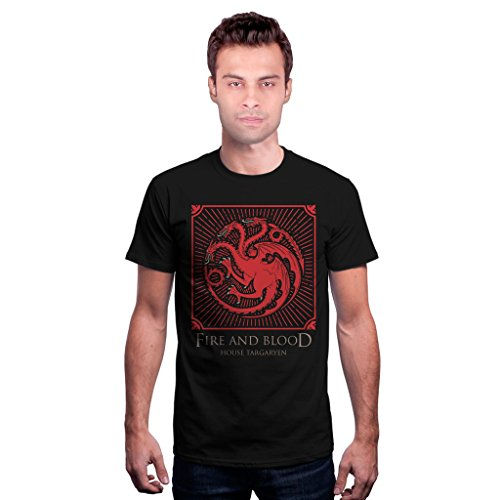 house targaryen shield game of thrones official t shirt -