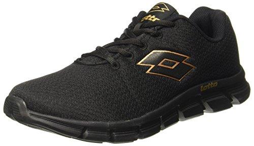 Lotto Men's Vertigo Black Running Shoes – 9 UK/India (43 EU) (AR4840-010)