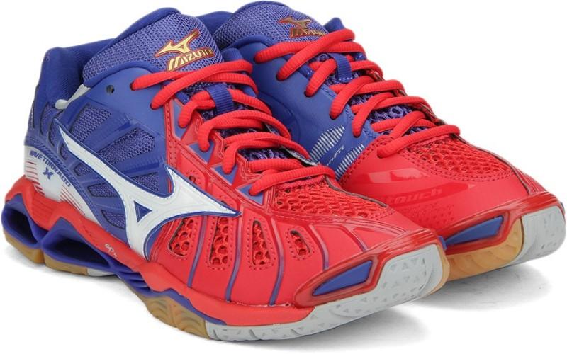 Mizuno V601B33 WAVE  X Basketball Shoes(Blue)