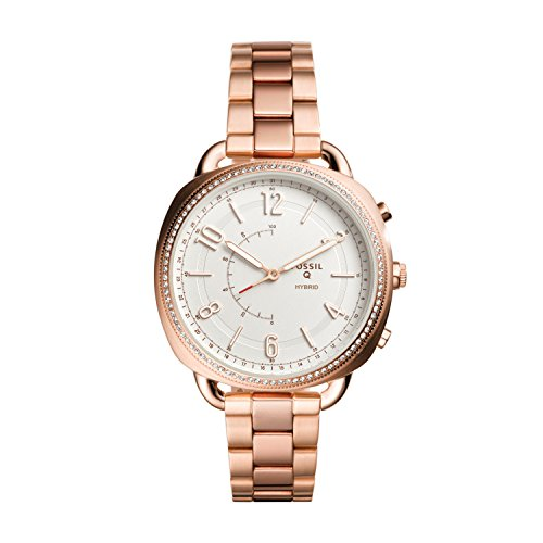 Fossil Q Hybrid Accompli Analog White Dial Women's Watch-FTW1208