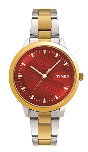 Timex Analog Red Dial Women's Watch-TW00ZR189