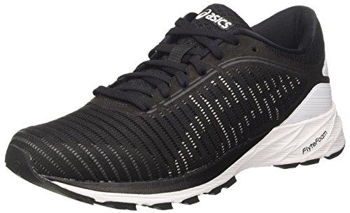 ASICS Women's Dynaflyte 2 Black/White/Carbon Running Shoes – 9 UK/India (43.5 EU)(11 US)