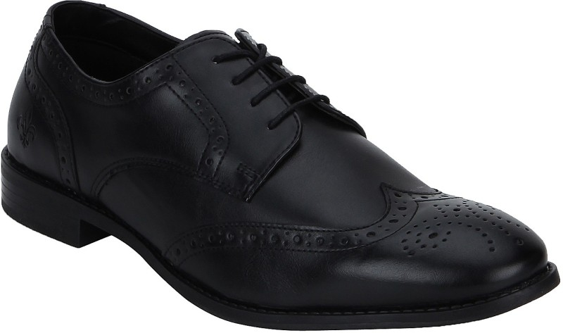 Bond Street By Red Tape Men Brogue Lace Up(Black)