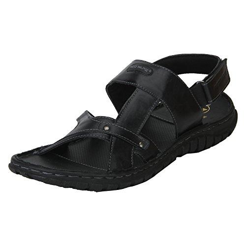 red tape mens rse0341 black sandals 9 ukindia 43 eurse0341 9 -