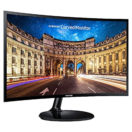 Samsung LC24F390FHWXXL 23.6-inch Curved LED Monitor (Black)