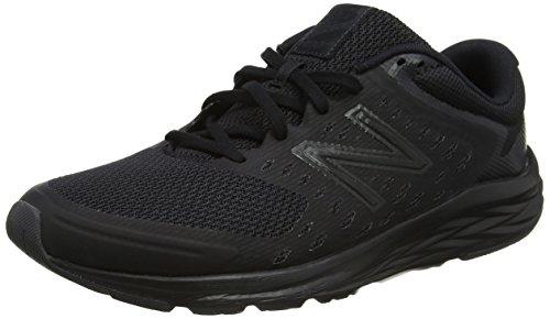 New Balance Men's 490 V5 Black Running Shoes – 10 UK/India (44.5 EU) (10.5 US)