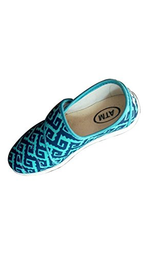 Glamour Party Wear Shoes/ Sandals/ Bellies for Girls (GK-14-39_Sky Blue)